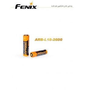 باتری شارژی مدل ARB-L18-2600 برند فنیکس