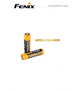 باتری شارژی مدل ARB-L18-3400 برند فنیکس