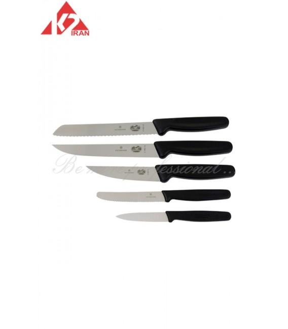ست چاقو پنج تایی